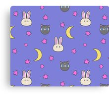 Sailor Moon R inspired Chibusa Luna-P Bedspread Blanket Print SuperS Version Canvas Print