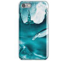 Underground fantasy castles painting in wax iPhone Case/Skin