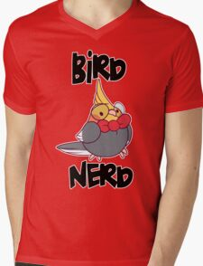 Bird Nerd Mens V-Neck T-Shirt