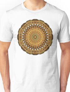 Earth Crystal Mandala Unisex T-Shirt