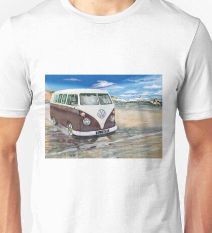 VW Cornish Camper Van Unisex T-Shirt