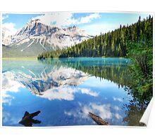 Emerald Lake, Banff Canada Poster