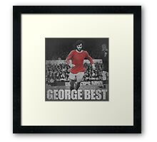 George Best  Framed Print