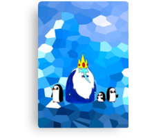 Ice King & his brood. Canvas Print