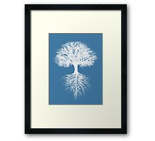 What lies beneath.. Framed Print