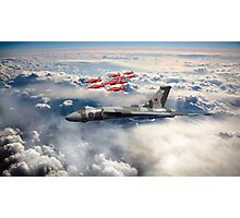 XH558 with The Reds Photographic Print