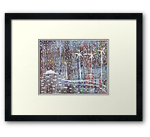 Beare Park Palms Framed Print