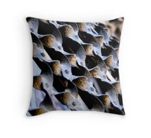 Metal Weave Throw Pillow