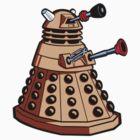 Day of the Dalek (Dalek sticker) by Olipop