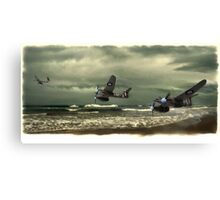 Westland Whirlwind fighter planes Canvas Print