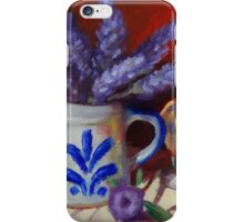 Chicken And Lavender Still Life iPhone Case/Skin