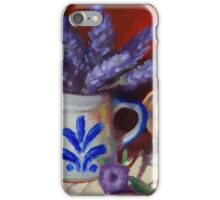 Chicken And Lavender Still Life iPhone Case/Skin