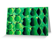 Apples Pears and Limes Greeting Card