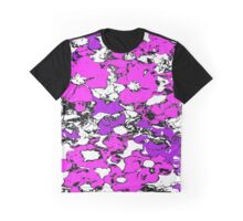 Pink and Purple Flowers Graphic T-Shirt