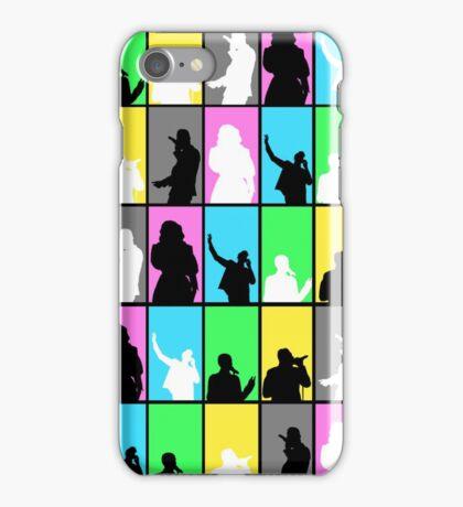 pentatonix silhouette blocks iPhone Case/Skin