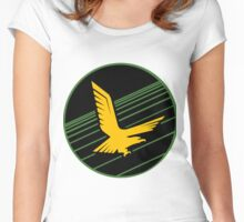 Golden Eagle Squadron of the IDF Patch Women's Fitted Scoop T-Shirt