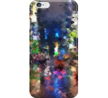 new york abstract street iPhone Case/Skin