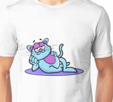 Cool Cat Cartoon Unisex T-Shirt