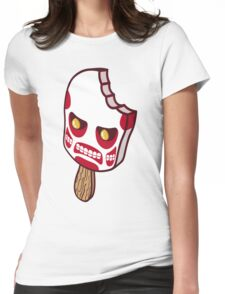 Colossal Ice Cream (sticker) Womens Fitted T-Shirt