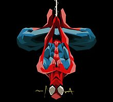 Hanging Spidey iPhone Samsung Galaxy Case by metroemporium
