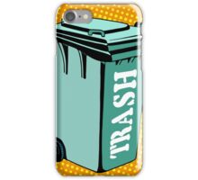 Trash ecology recycling tank iPhone Case/Skin