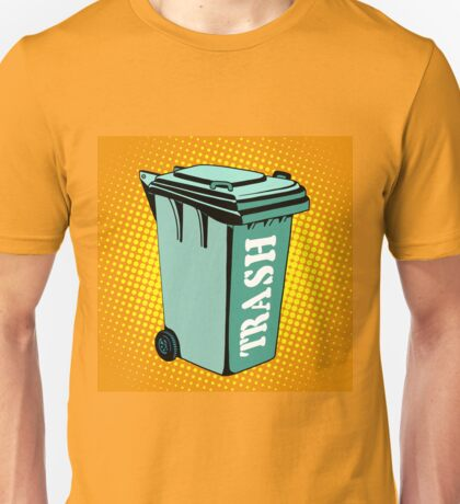Trash ecology recycling tank Unisex T-Shirt