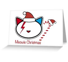 Meowie Christmas 9 Greeting Card