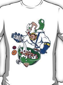 Groovy-Os Cereal (sticker) T-Shirt