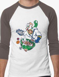 Groovy-Os Cereal (sticker) Men's Baseball ¾ T-Shirt
