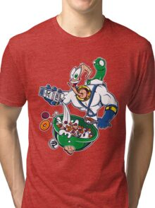 Groovy-Os Cereal (sticker) Tri-blend T-Shirt