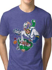 Groovy-Os Cereal (sticker) Tri-blend T-Shirt