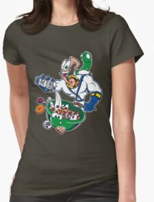 Groovy-Os Cereal (sticker) Womens Fitted T-Shirt