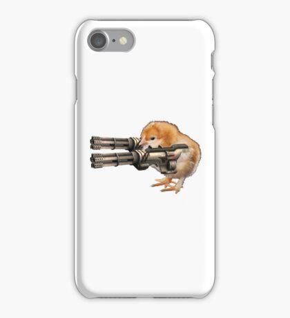 Guns Up Baby! iPhone Case/Skin