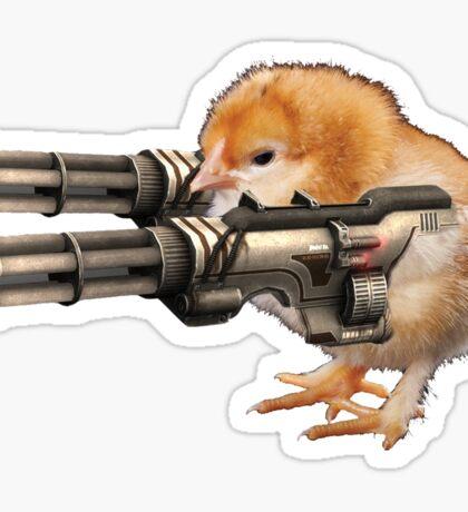 Guns Up Baby! Sticker