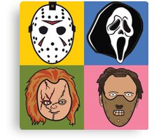 Greatest Hits of Horror Canvas Print