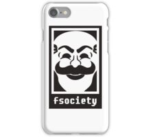 F society - Mr Robot iPhone Case/Skin
