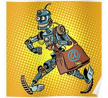 Automatic mailing of the robot Poster