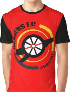 Arsenal FC - The Gunners Graphic T-Shirt