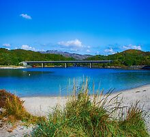 Morar Sands by Chris Thaxter