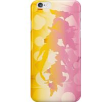 Falling; Abstract Digital Vector Art iPhone Case/Skin