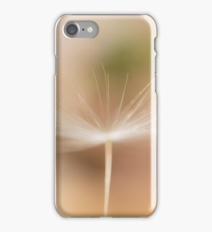 dandelion fluff channeling its inner ballerina iPhone Case/Skin