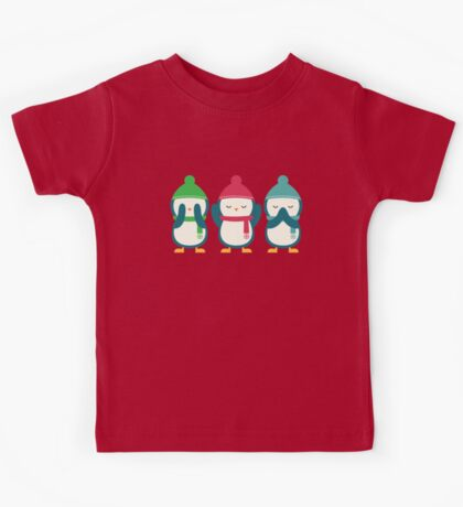 No Evil In Holiday Kids Tee