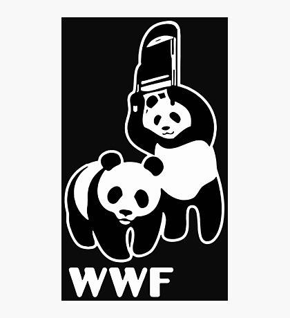 panda wwf Photographic Print