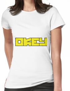 OKEY Womens Fitted T-Shirt