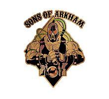 Son of Arkham - Wrestler Photographic Print