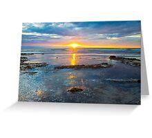 Brilliant Rays Of Sunlight Greeting Card