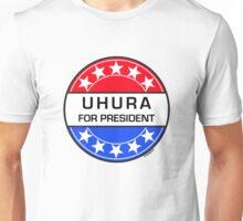 UHURA FOR PRESIDENT Unisex T-Shirt