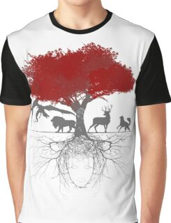 Three-eyed raven tree Graphic T-Shirt
