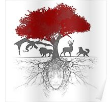 Three-eyed raven tree Poster