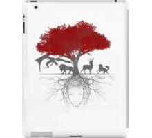 Three-eyed raven tree iPad Case/Skin